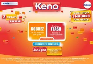 Loterie online Keno