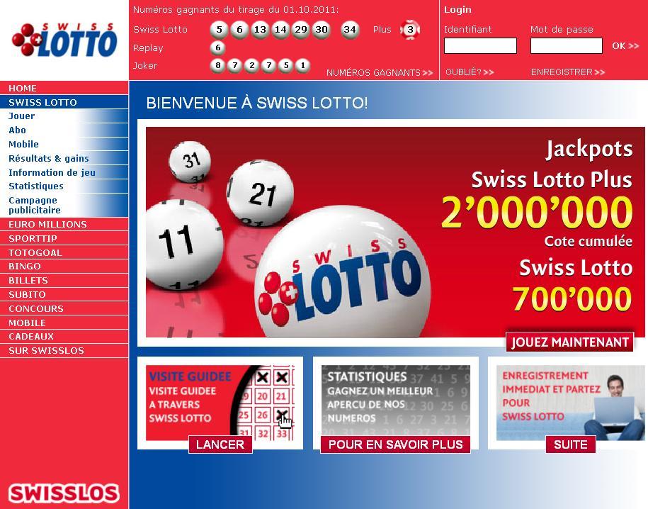 loterie nationale suisse d couvrez les loteries en suisse. Black Bedroom Furniture Sets. Home Design Ideas