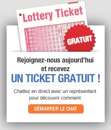 ticket loterie gratuit