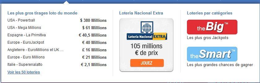 jouer aux loteries sur TheLotter