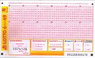 6 Millions d'euros au Lotto en Allemagne