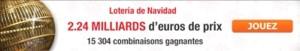Loterie espagnole de Noel 2013