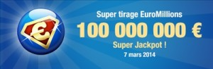 Super tirage Euromillion