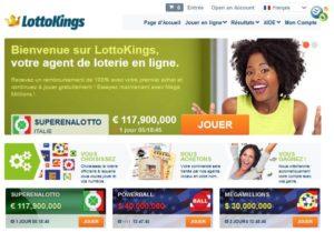 Tirage du loto sur Lottokings